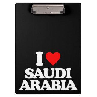I LOVE SAUDI ARABIA CLIPBOARDS