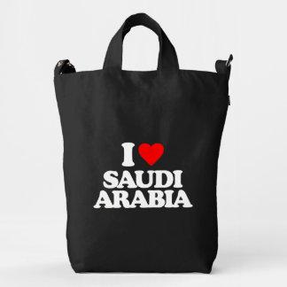 I LOVE SAUDI ARABIA DUCK CANVAS BAG