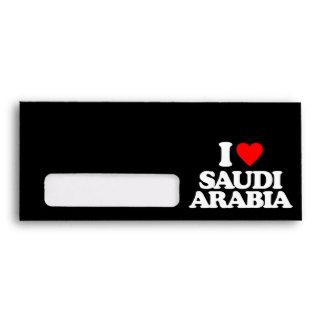 I LOVE SAUDI ARABIA ENVELOPE