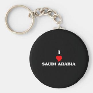 I Love Saudi Arabia Keychain
