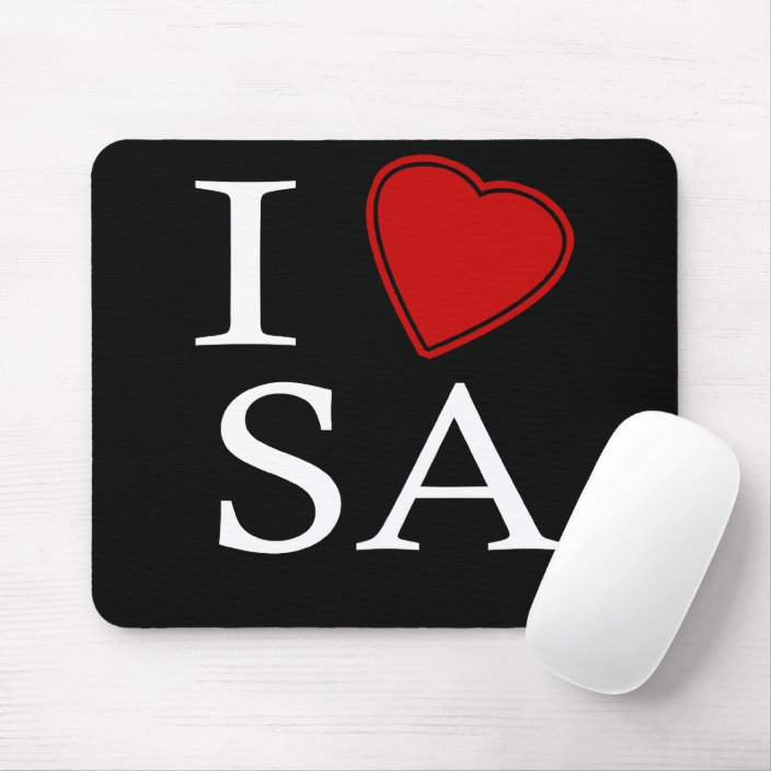 I Love Saudi Arabia Mousepad