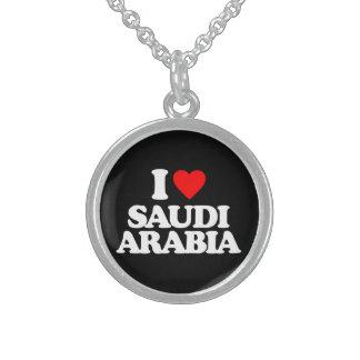 I LOVE SAUDI ARABIA PENDANTS