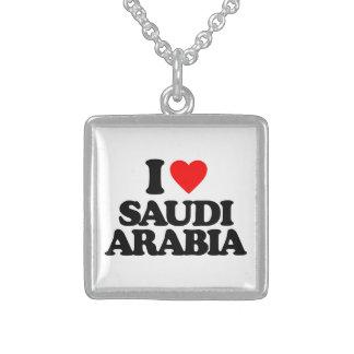 I LOVE SAUDI ARABIA PENDANT