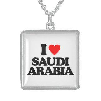 I LOVE SAUDI ARABIA CUSTOM NECKLACE