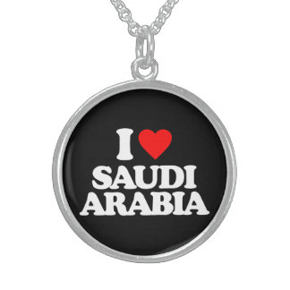 I LOVE SAUDI ARABIA CUSTOM JEWELRY