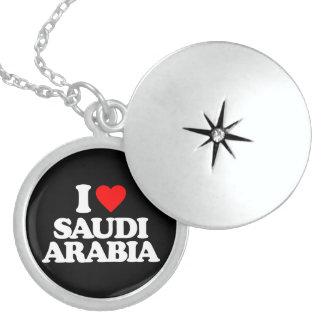 I LOVE SAUDI ARABIA NECKLACE
