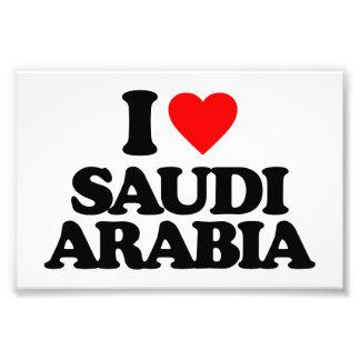 I LOVE SAUDI ARABIA PHOTO ART