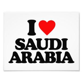 I LOVE SAUDI ARABIA PHOTOGRAPH