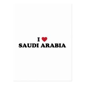 I Love Saudi Arabia Postcard