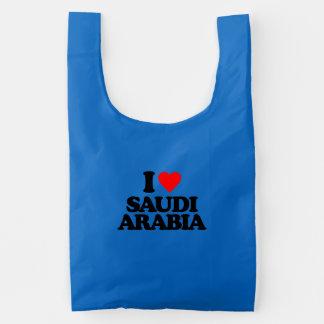 I LOVE SAUDI ARABIA REUSABLE BAG
