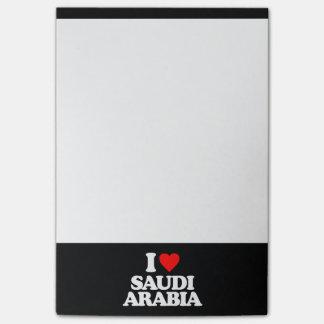 I LOVE SAUDI ARABIA POST-IT® NOTES