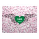 I Love Saudi Arabia -wings Post Card