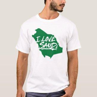 i love saudi tshirt