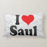 I love Saul Throw Pillows