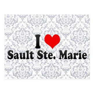 I Love Sault Ste. Marie, Canada Postcard