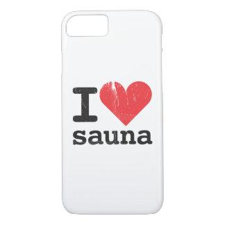 I Love Sauna iPhone 8/7 Case