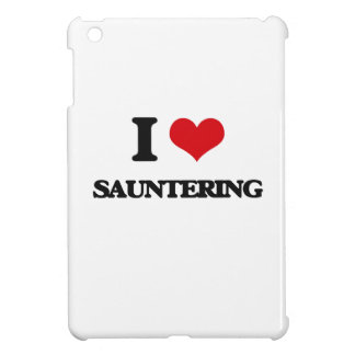 I Love Sauntering iPad Mini Cases