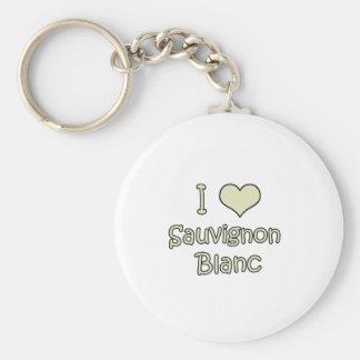 I Love Sauvignon Blanc Key Chain
