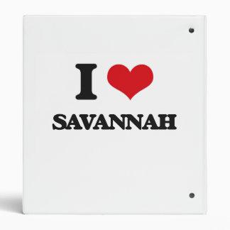 I love Savannah 3 Ring Binder