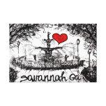 I love Savannah Canvas Print