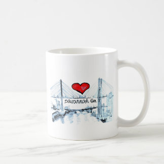 I love Savannah Ga Coffee Mug