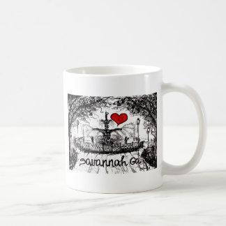 I love Savannah Ga. Coffee Mug