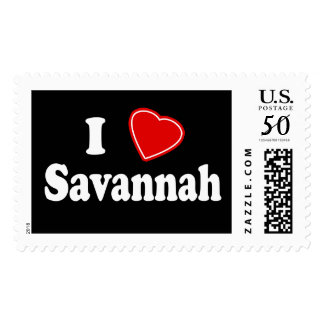 I Love Savannah Postage