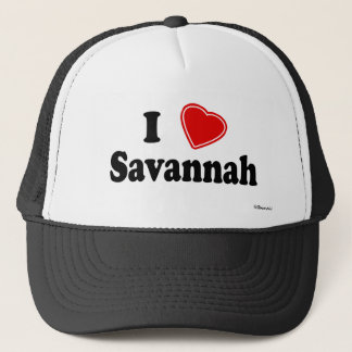 I Love Savannah Trucker Hat