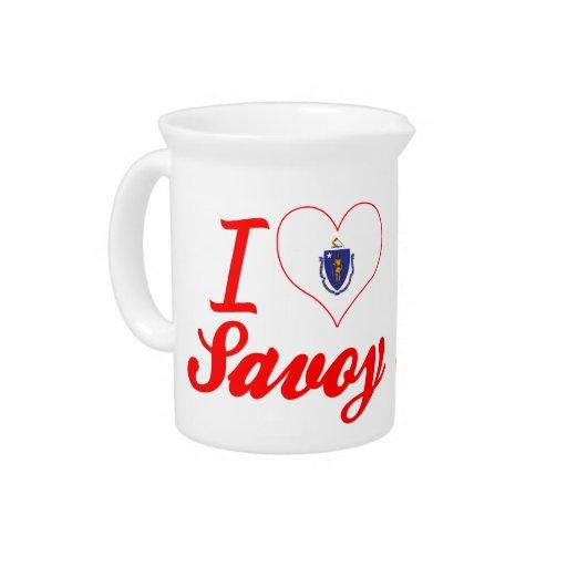 I Love Savoy, Massachusetts Pitcher