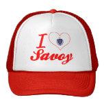 I Love Savoy, Massachusetts Trucker Hat