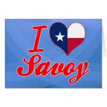 I Love Savoy, Texas Cards