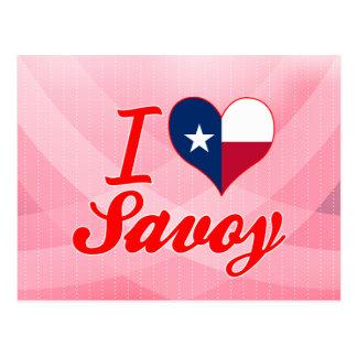 I Love Savoy, Texas Postcard