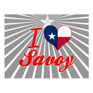 I Love Savoy, Texas Post Cards