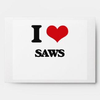I Love Saws Envelope