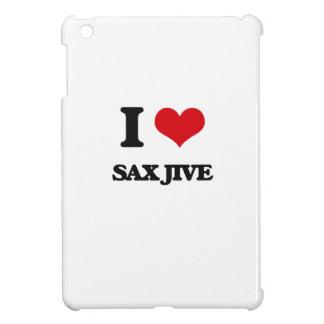 I Love SAX JIVE Case For The iPad Mini