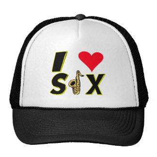 I Love Sax Trucker Hat