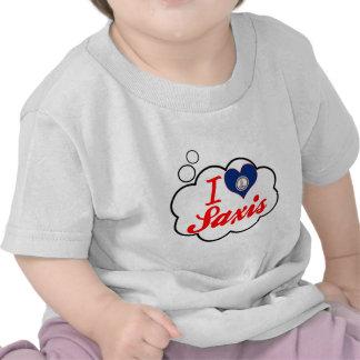 I Love Saxis, Virginia Tee Shirt