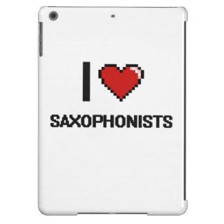 I love Saxophonists iPad Air Cover