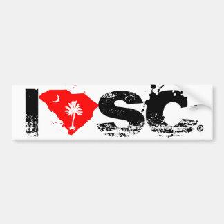 I love SC Bumper Sticker