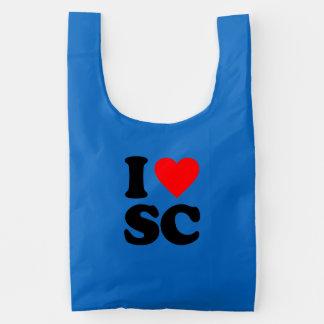 I LOVE SC REUSABLE BAG