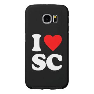 I LOVE SC SAMSUNG GALAXY S6 CASE