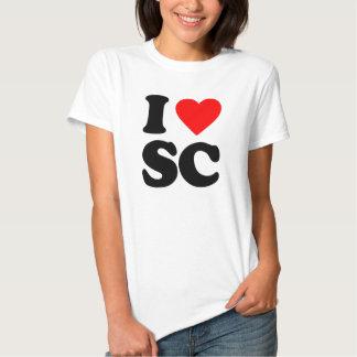 I LOVE SC TEES