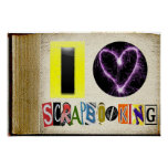 I Love Scapbooking Frame Posters