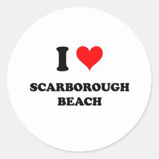I Love Scarborough Beach Maine Sticker