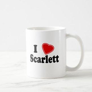 I Love Scarlett Coffee Mug