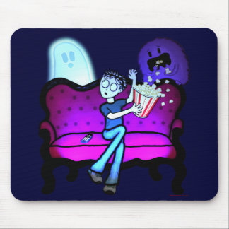 I Love Scary Movies Mouse Pad