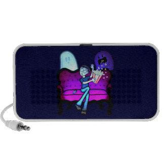 I Love Scary Movies Mini Speakers