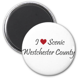I Love Scenic Westchester County Magnet