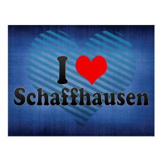 I Love Schaffhausen, Switzerland Postcard
