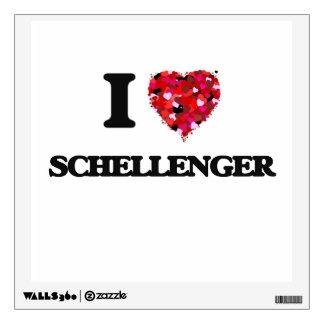 I love Schellenger New Jersey Room Decal